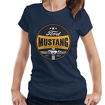 Ford Mustang American Muscle Est 1964 Icon Naisten&Apos;t-paita