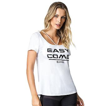 Lyhythihainen paita 122 Easy Come White