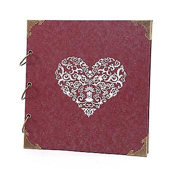 Diy håndlavet fotoalbum dekoration bog