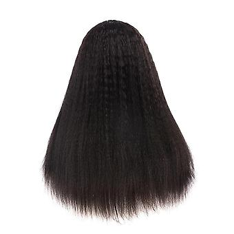 U Part Wig Brasilialainen Kinky Suora Peruukki Hiukset 100% Remy Ihmisen Hiukset Yaki