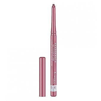 Rimmel Exaggerate Lip Liner Pencil - 063 East End Snob