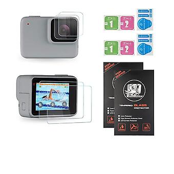 Double Lcd Screen And Lens Glass Protector For Gopro