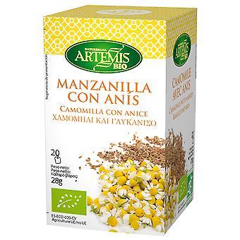 Herbes del Molí Manzanilla+Anis Infusion Eco 20 Filtros