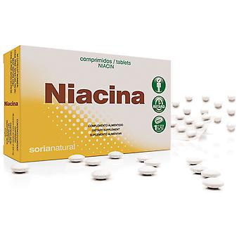 Soria Natural Niacine B3 Retard 200 mg 48 Comprimés