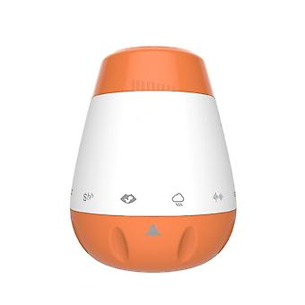 Wiederaufladbare Noise Machine Sleep Sound (orange)