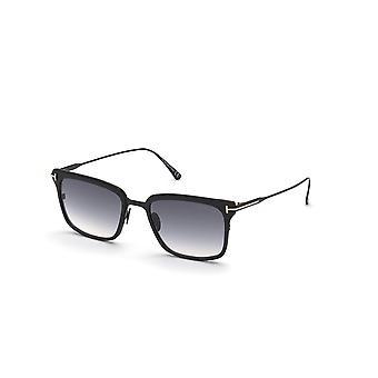 Tom Ford Hayden TF831 02B Matte Black/Smoke Gradient Sunglasses