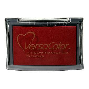 Almohadillas de tinta pigmentaria Tsukineko Versacolor - Cardenal