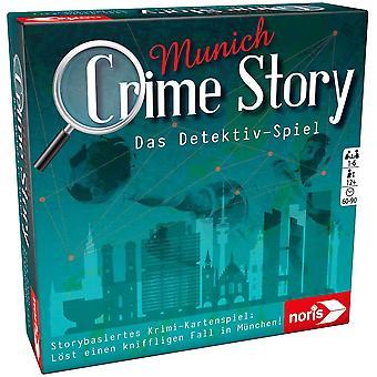 HanFei 606201890 Krimi München-Das Detektiv Spiel-Storybasiertes Krimi-Kartenspiel zum Thema