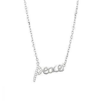 Silver halsband 925 och Zirkonium