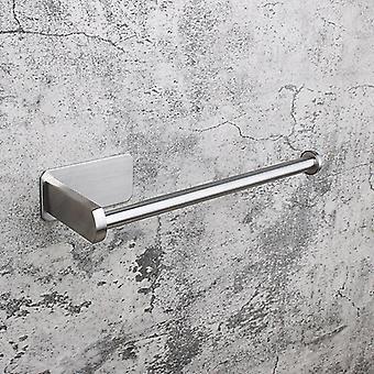 Wall Mount Toilet Paper Holder Stainless Steel Bathroom Tissue Towel