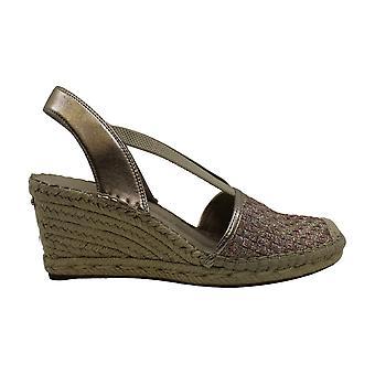 Anne Klein Womens Aneesa Closed Toe Casual Espadrille Sandals