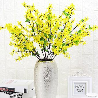 5pcs flor artificial invierno jazmín flor seca flor falsa
