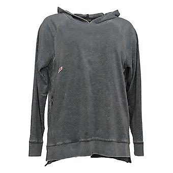 Enhver Kvinders Sweater Reg Beach vasket franske Terry Hoodie Blue A393063