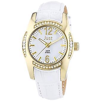 Just Watches Analog Quartz Wristwatch 48-S8368WH-GD