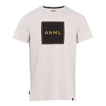 Djur Noah Kortärmad T-Shirt i Violet Grey Marl