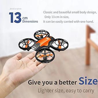 CEVENNESFE V8 Mini Drone 4K 1080P Caméra HD WiFi Fpv Noir Quadcopter| Hélicoptères RC