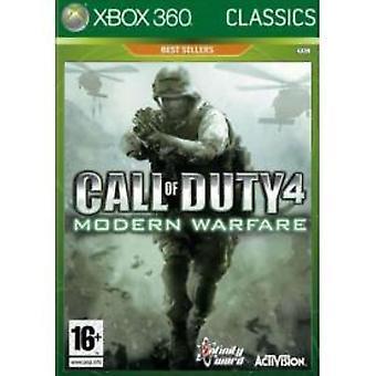 Call Of Duty 4 Modern Warfare Game (Classics) XBOX 360