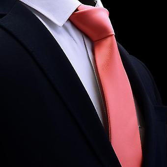 Classic Silk Jacquard Solid Color Necktie