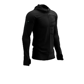 Compressport 3D Thermo Seamless Hoodie Zip - Black Edition 2021 - AW21