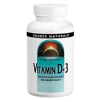 مصدر الطبيعية فيتامين D-3, 2,000 وحدة دولية, 400 قبعات