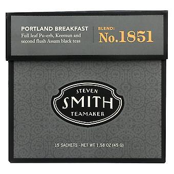 Smith & Nephew Tea Blk Pdx Breakfast, Case of 6 X 15 Bags