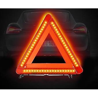 Faltbares Auto Reflektierendes Dreieck Warnschild Straßenverkehrswerkzeug Abschied