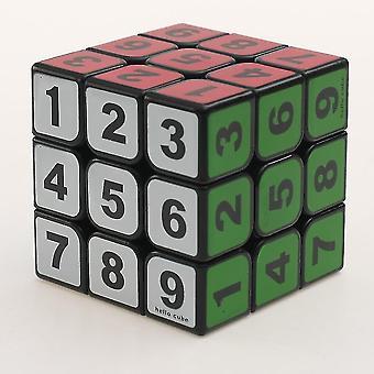 Număr PuzzleRubik's Cube, jucărie educațională / jucărie pentru adulți (negru)