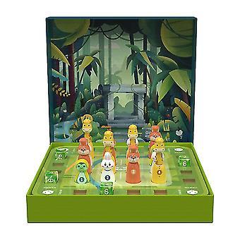 Montessori Thinking Jungle Adventure Team Strange Stone Maze Dreidimensionales Sudoku Brettspiel