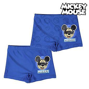 Erkekler Yüzme Şort Mickey Mouse