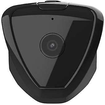 كاميرا صغيرة، كاميرا مراقبة واي فاي، كاميرا تجسس أمن الأسرة الصغيرة، كاميرا الرؤية الليلية الذكية، لا ضوء (أسود)