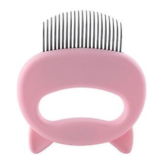 Cat Hair Remover Cat Massage Comb Handle Pet Grooming Massage Comb Comb