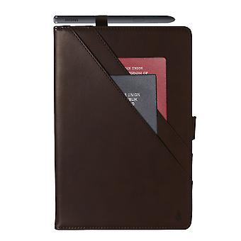 Case For Ipad Pro 12.9 2021 Genuine Quality Leather Stand Cover With Multiple Viewing Angles Wake/sleep Enabled - Brown