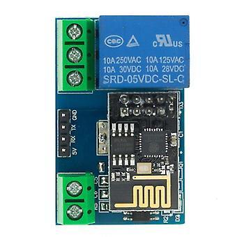 Esp8266 esp-01 esp-01s 5v واي فاي ترحيل وحدة الأشياء الذكية المنزل التحكم عن بعد التبديل الهاتف التطبيق اللاسلكية واي فاي وحدة لarduino