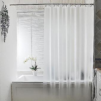 ללא פונץ' מסך מקלחת שקוף ומוברש עמיד למים