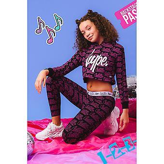 Hype Meisjes Logo LOL Surprise Crop Hoodie
