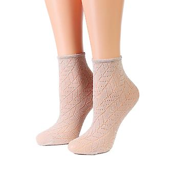 Sparkling Eyelet Socks