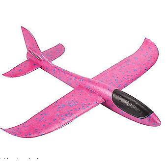 Flugzeugspielzeug für Kinder, fliegende Flugzeuge für Jungen Mädchen (pink)
