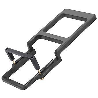 Acțiune Aparat de fotografiat Switch Adaptor handheld Gimbal Mount Plate Splint plastic pentru Gopro Hero 9 8 Negru