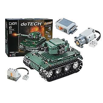 Rádióvezérelt katonai tank - készlet - 313 elem