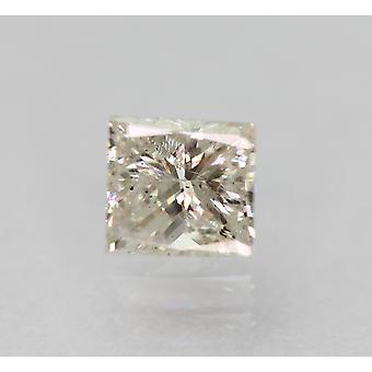 معتمد 0.47 قيراط G SI1 الأميرة تعزيز الماس فضفاضة الطبيعية 4.2x3.91mm