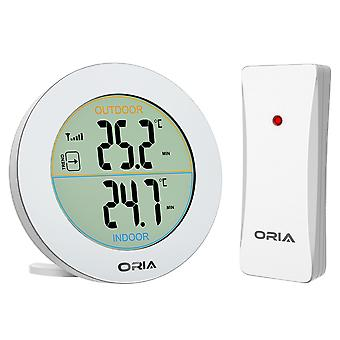 Indoor Outdoor Thermometer Digital Wireless Thermometer Temperatur Remote Sensor Lcd Home Office Außentemperatur
