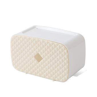 Wall Mounted Toilet Paper Roll Storage Box, Plastic Toilet Paper Dispenser, Bathroom Accessories
