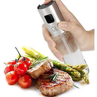Olie spray azijn dispenser met stalen pomp