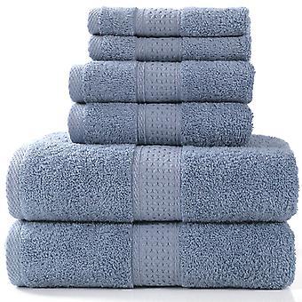 Towel Set - Set Of 6 Sets Of Towels 100% Cotton 950g / M, 2 Bath Towels