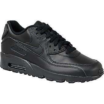 Nike Air Max 90 Lea Gs 833412-001 barna joggesko
