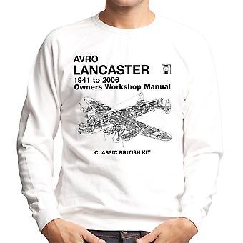 Haynes propietarios taller Manual Arvo Lancaster 1941 a 2006 camiseta de los hombres