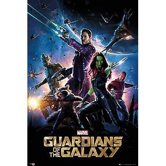 Guardians of the Galaxy - filmaffisch Skriv ut affisch affisch Skriv