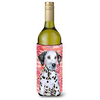 Dalmatische kalverliefde wijnfles Beverge isolator Hugger