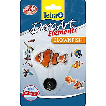 Tetra Decoart Elements Floating Clownfish Ornament