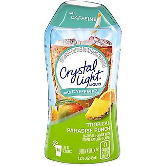 Crystal Light with Caffeine Tropical Paradise Punch Liquid Drink Mix